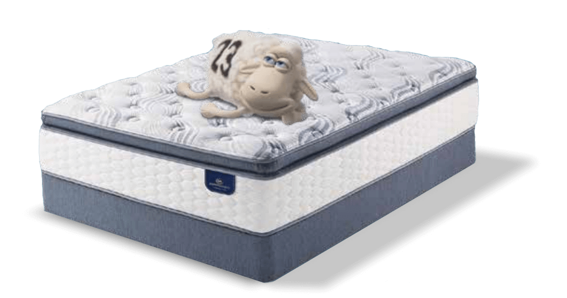 Dare to compare the comfort of a Serta Perfect Sleeper.